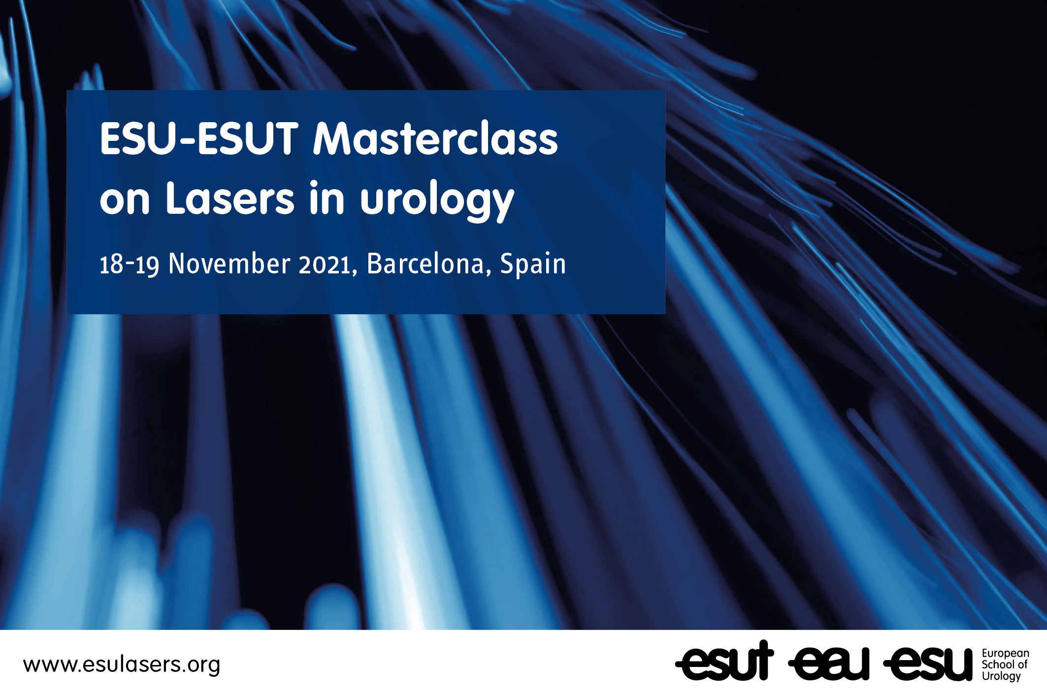 ESU-ESUT masterclass on lasers in urology